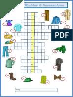 59908 Kleider Accessoires Kreuzwortrtsel