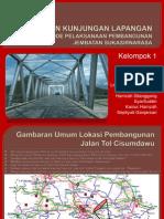 Pelaksanaan Jembatan Jalan Tol Cisumdawu
