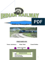 Neelam Documantation of Railway Reservation for Print