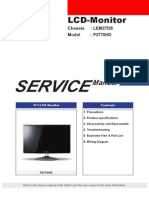 Samsung p2770hd Chassis Lem27ds