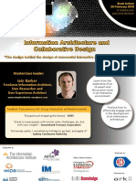 Information Architecture and Collaborative Design