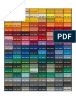 Tabla Colores Ppg Ral_2