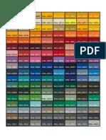 Tabla Colores Ppg Ral_2