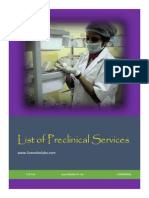 Preclinical Services