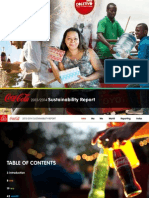 2013 2014 Coca Cola Sustainability Report PDF