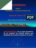 Problemas resueltos ángulos en la circunferncia  diapositivas.ppt