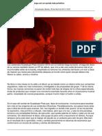 Guadalupe Plata Vuelve a La Carga Con Un Sonido Mas Basico y Primitivo Ubeda