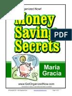 Money Saving Secrets