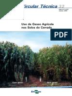 Uso Do Gesso Agricola Nos Solos Do Cerrado (1)