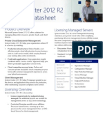 System Center 2012 R2 Licensing Datasheet