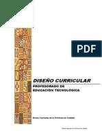 Documento Curricular Ed Tecnológica 2013