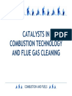 Catalysts in Combustion