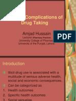 Medical Complication of Drug Taking
