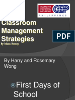 CLASSROOM MANAGEMENT Talk