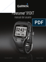 Forerunner 910XT OM ES