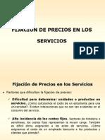 Fijación de Precios en Los Servicios.