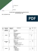 Planificare Clasa a VI a English Factlife