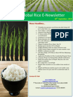 30th September 2014 Daily Global Rice E-Newsletter by Riceplus Magazine