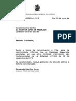 2008 Oficio Assor -CGE Pensões Especiais