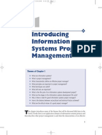 23264 Chapter 1 Introducing Information Systems Project Management
