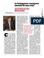 """""""PENSIONATA BOLOGNESE RECUPERA GLI INVESTIMENTI DI UNA VITA"""" di Antonio Mumolo"""