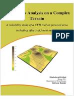 Teneler G, Wind Flow Analysis on a Complex Terrain, 2011