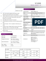 Product Sheet - V1200 Platinum
