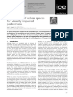 Accessibility of Urban Spaces