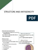 Structure and Antigenicity of Orthomyxoviridae