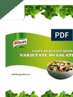varietatea salatelor