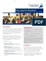 AfYWP Small Grants July 2015