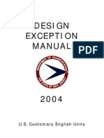 Design Exception Manual 2004
