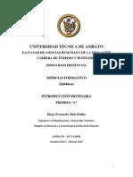 Modulo Formativo Hoteleria 1.1 Sep-feb2014