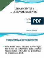 5 Aula T e D Programação 03.09