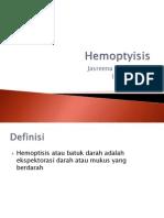Hemoptyisis  ppt