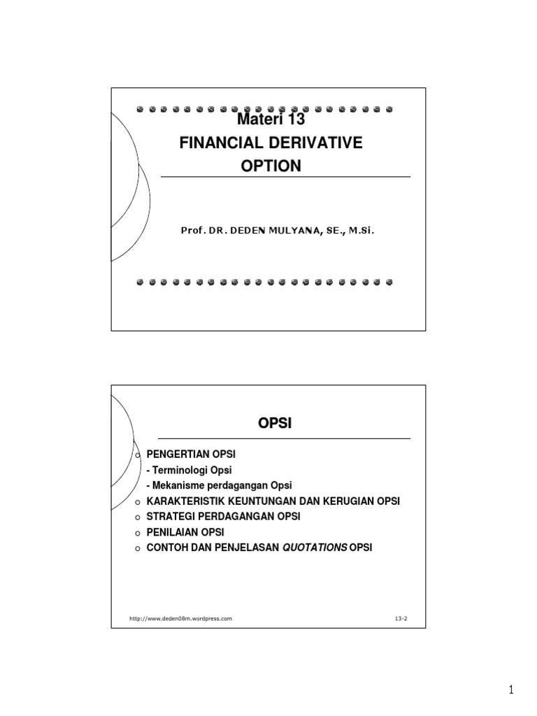 Makelar Perdagangan Kota Pariaman: Pilihan Strategi Payoff Diagram