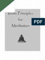 Vedic_principle Meditation Vasantha Sai