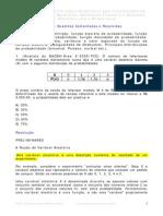 Exercícios Resolvidos e Propostos - Probabilidade e Estatística
