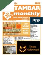 Costambar Monthly October 2014