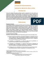 Position Paper Tdh Contra La Explotacion Laboral Infantil