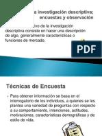 Diseño de La Investigación y Encuestas