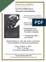 Blackfish Screening & Panel Discussion