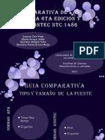 Comparativo Apa Icontec