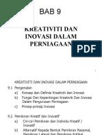 Bab 9 An025kreativiti Dan Inovasi