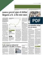 Bolsa Limeña Baja en Setiembre_Gestión 1-10-2014