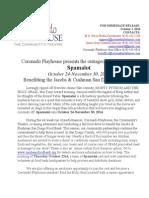 "Coronado Playhouse presents ""SPAMALOT"""