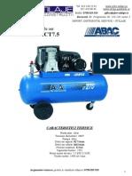 927__854Compresor de Aer B6000-270 CT7.5 ABAC