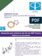 Transición a Las Niif Para Pymes Seccion 35