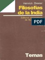 134005778 Filosofias de La India Zimmer