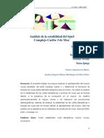 Cap 3_Caso Estudio_Análisis de La Estabilidad Del Túnel Complejo Caribe 3 de Moa